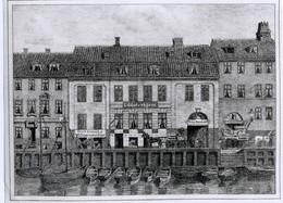 Fritz Hansen Heritage - History drawing of Christianshavn