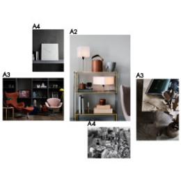 Inspiration Frames - 5 collage - 2018 setup 2