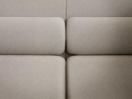 Plenum high-back sofa system - detail close-up