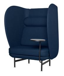 Plenum high-back sofa system - dark blue