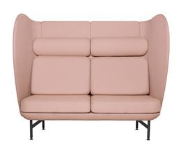 Plenum high-back sofa system - pink