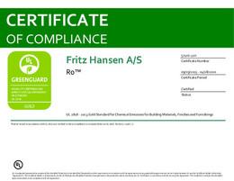 Greenguard Gold Certificate, Ro, EN - 2020