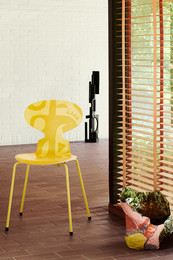 Ant Deco - Yellow Silhouette