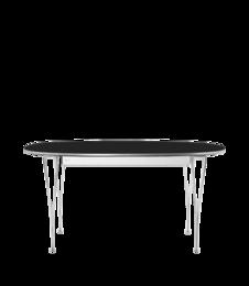 Table Series - Super-Elliptical w. extension, Black (rendering)