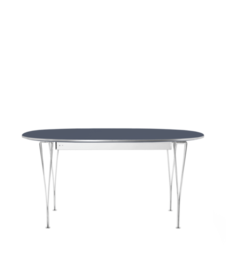 Table Series - Super-Elliptical w. extension, Blue Delft (rendering)