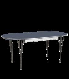 Table Series - Super-Elliptical, Blue Delft(rendering)