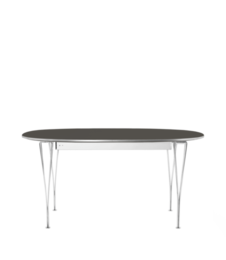 Table Series - Super-Elliptical w. extension, Grey Bromo (rendering)