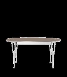 Table Series - Super-Elliptical w. extension, Pink Colorado (rendering)