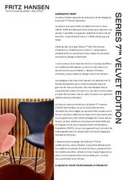 Press Release - Series 7™ Velvet Edition, FR - pdf