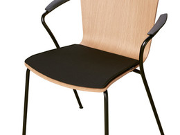 Vico Duo - Seat cushion, Black