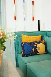 Cushion - Arne Jacobsen, Tassel - Jaime Hayon