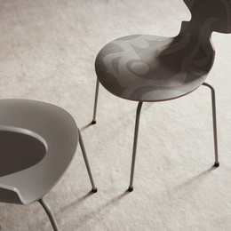 Ant - Pale Grey and Ant Deco - Grey Silhouette