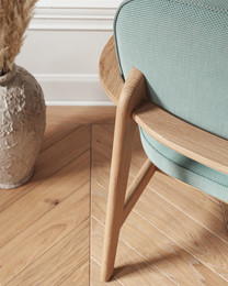 Fred - Clear lacquered oak