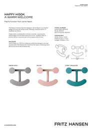 Accessories SS20 - Happy Hook - Product fact sheet - EN