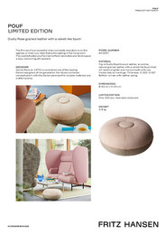Accessories SS20 - Pouf - Product fact sheet - EN