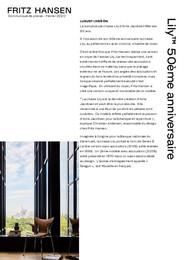 Press Release - Lily™ 50th Anniversary Edition, FR- pdf