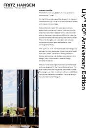 Press Release - Lily™ 50th Anniversary Edition, US- pdf