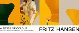 E-mail banner - A Sense of Colour, Yellow