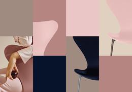 Colours - Grid, Horizontal - Pink