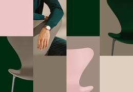 Colours - Grid, Horizontal - Green