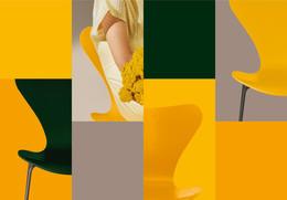 Colours - Grid, Horizontal - Yellow