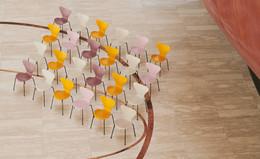 Series 7 - Light Beige, True Yellow, Pale Rose, Wild Rose