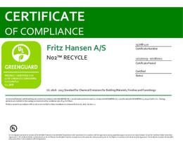 Greenguard Certificate, N02 Recycle, EN - 2021