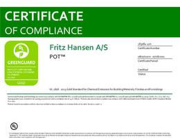 Greenguard Gold Certificate, Pot, EN - 2021