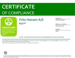 Greenguard Certificate, Pot, EN - 2021
