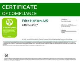 Greenguard Gold Certificate, Little Giraffe, EN - 2021