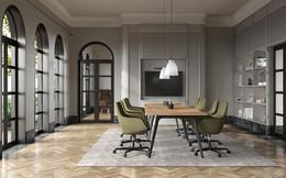 3D visualization - Meeting room