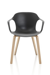 NAP™ chair with wooden legs