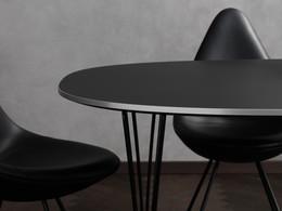 Super elliptical Table Series