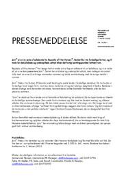 Press Release Join 2013 DA