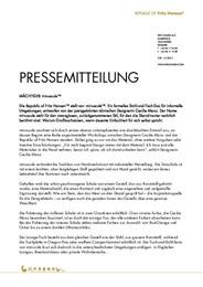 Press Release minuscule DE