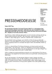 Press Release Favn DA