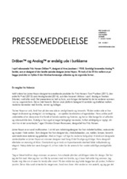 Press Release Drop & Analog DA