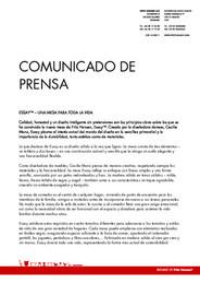 Press Release Essay table 2009 ES