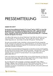 Press Release Favn DE