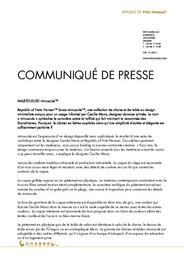 Press Release minuscule 2012 FR
