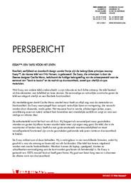Press Release Essay table 2009 NL