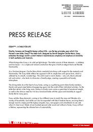 Press Release Essay table 2009 ENG