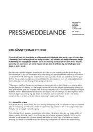 Press Release Fri & Sammen 2015 SE