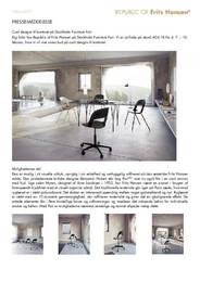 Press Release Cool Designs Stockholm 2017 DA
