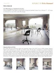 Press Release Cool Designs Stockholm 2017 ENG