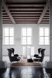 Ro Sofa - Warm grey