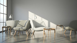 3D Visualizations - VIA, Caravaggio & Tray Table