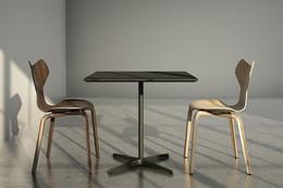 3D Visualizations - Grand Prix Chair