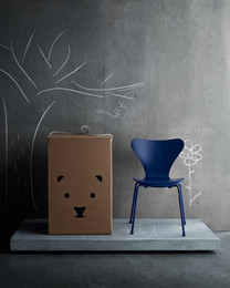 Objects - Series 7 children's chair, Ai Blue