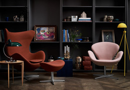 Egg and Swan - Fritz Hansen Colours